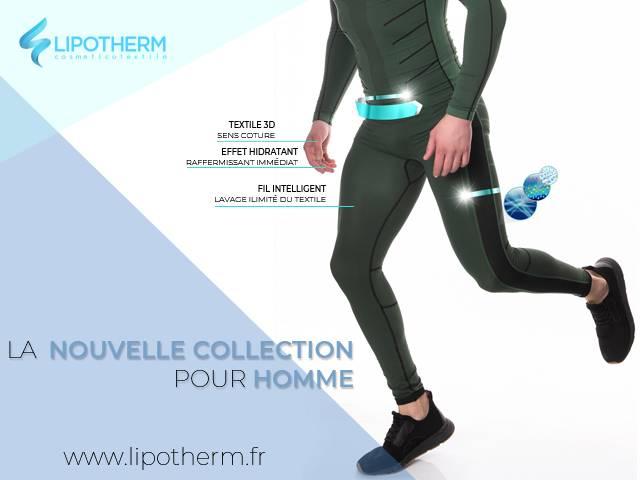 La nueva colección de ropa con Emana para hombre de Lipotherm